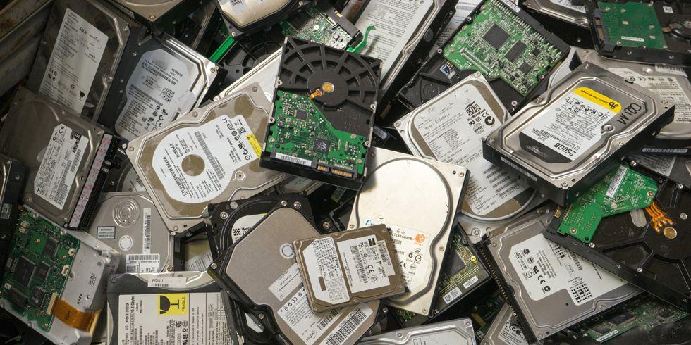 hard-drive-pile