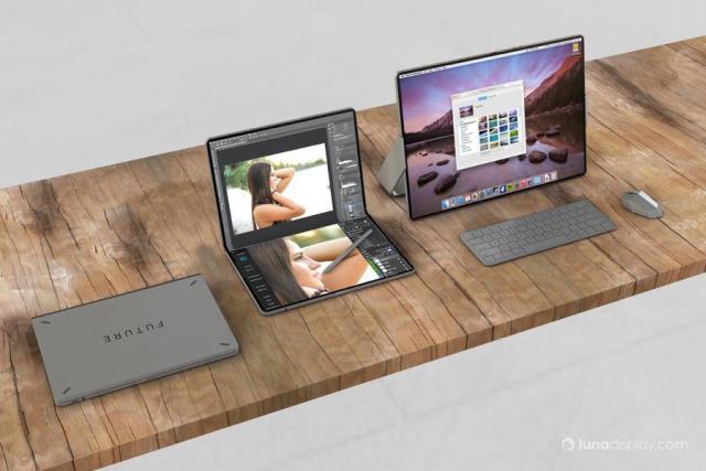 طرح مفهومی جدید MacBook نمایشگر تاشو را نشان میدهد