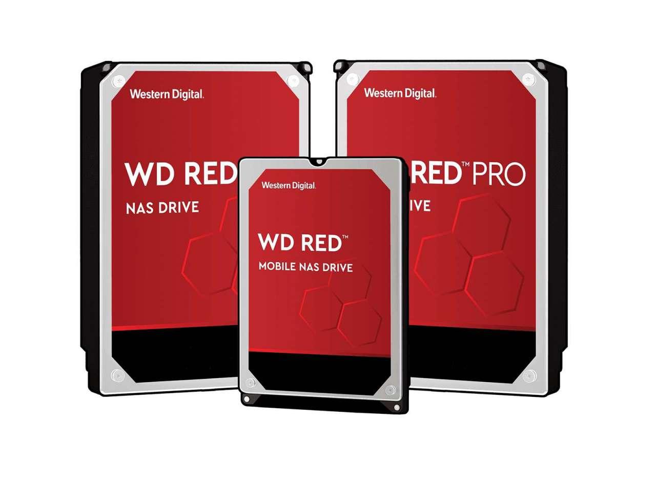 هارد دیسکهای 12 ترابایتی Red و Red Pro وسترن دیجیتال رویت شدند