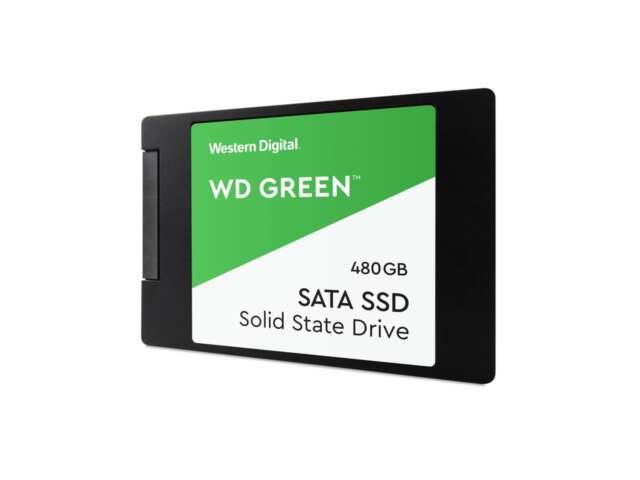 """اساسدی وسترن دیجیتال Green PC 480GB 2.5"""" 7mm WDS480G2G0A"""