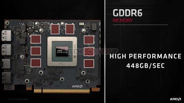 Radeon RX 5700 XT و RX 5700 از حافظه و ROP یکسان بهره میبرند