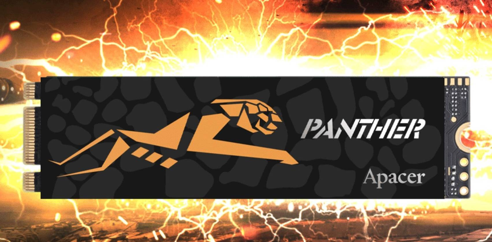 Apacer از اس اس دی جدید Panther AS2280P2 PRO رونمایی کرد