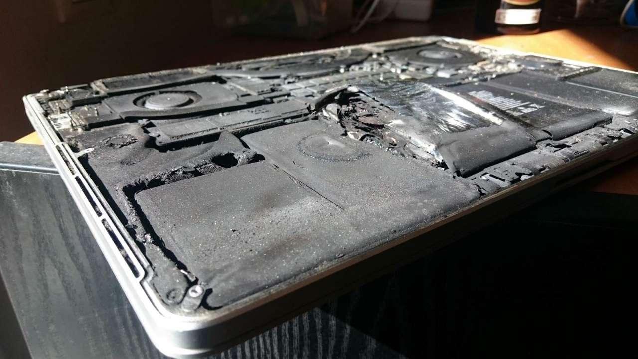 لپتاپهای MacBook Pro اپل با استفاده معمول هم منفجر میشوند!