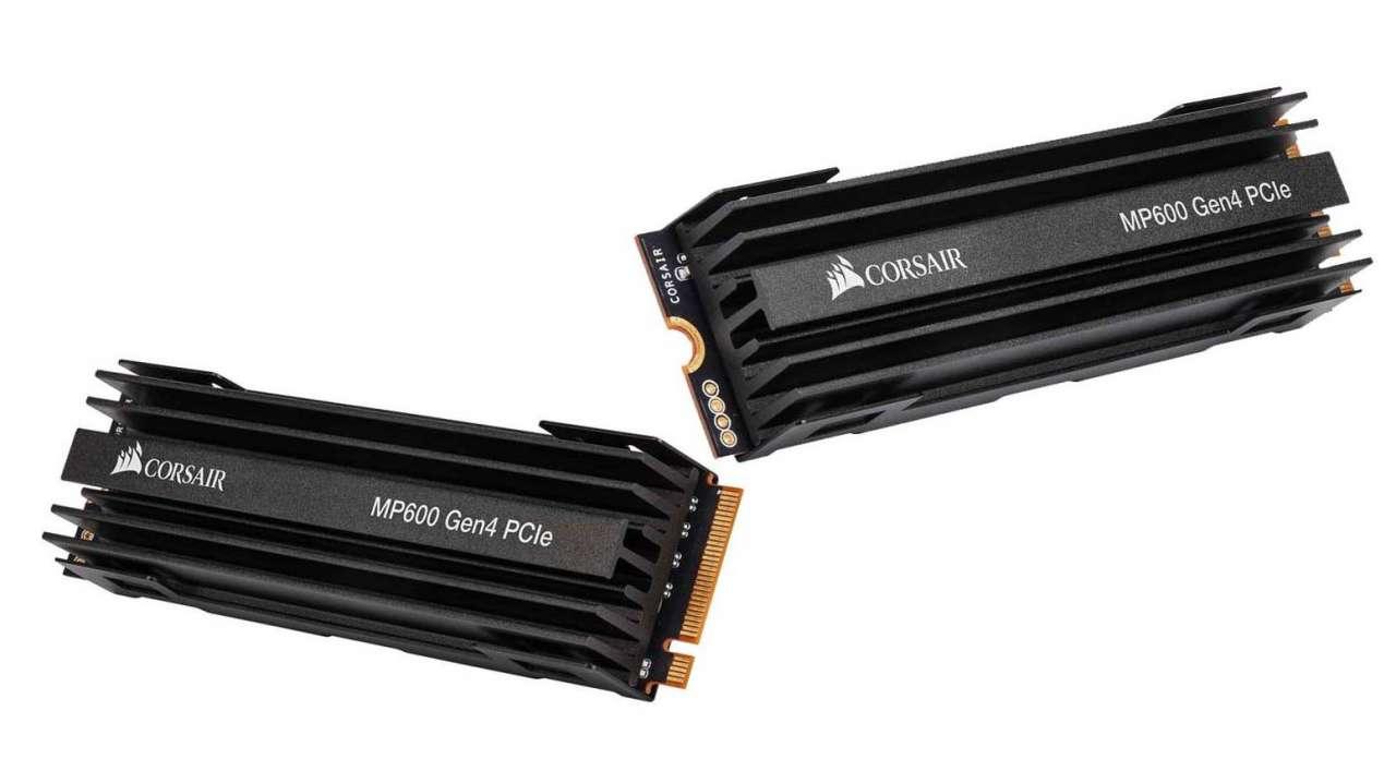 کورسیر از اس اس دی جدید MP600 با رابط PCI-E 4.0 رونمایی کرد