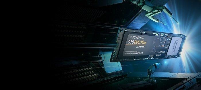 اساسدی سامسونگ 970 EVO Plus 250GB NVME M.2 MZ-V7S250