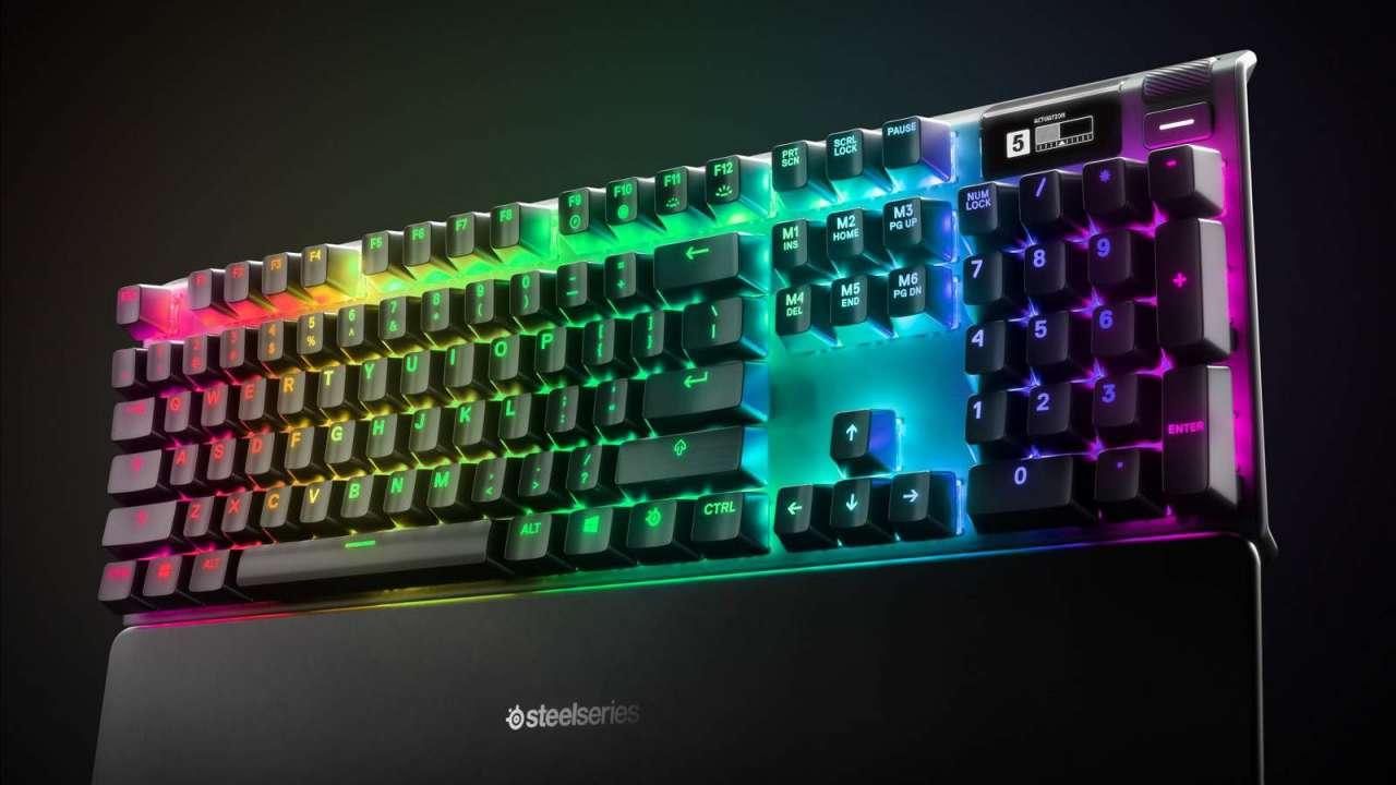 صفحه کلید RGB جدید Apex Pro با سوییچهای مکانیکی توسط SteelSeries معرفی شد