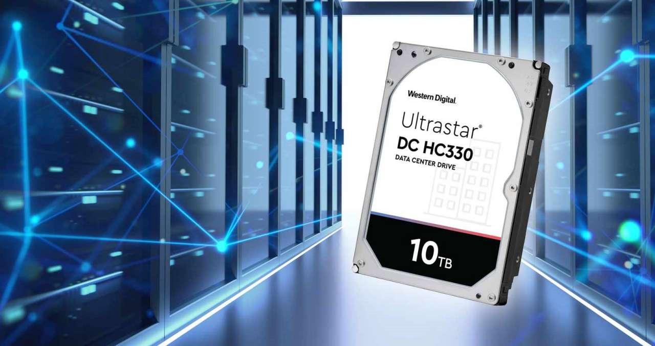 هارد دیسک 10 ترابایتی Ultrastar DC HC330 وسترن دیجیتال معرفی شد