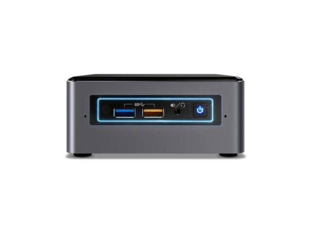 کامپیوتر کوچک اینتل ناک NUC7i5BNH Intel Core i5 - 8 GB - 1 TB + 120 GB SSD