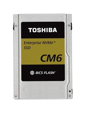 کمپانی توشیبا از حافظههای جامد سری CM6 خود رونمایی کرد