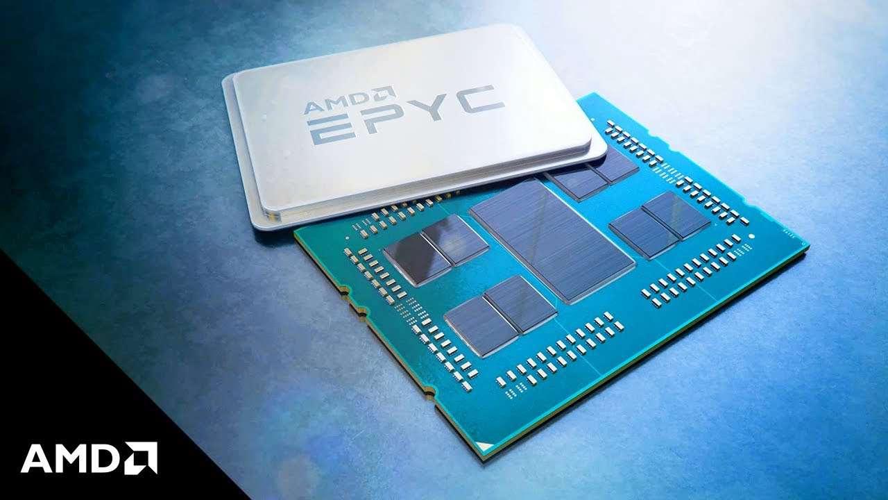 مقایسه دو پردازنده EPYC 7742 و Xeon Platinum 8180M در نرمافزار Geekbench 4