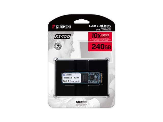اساسدی کینگستون A400 240GB M.2 SATA SSD SA400M8/240G