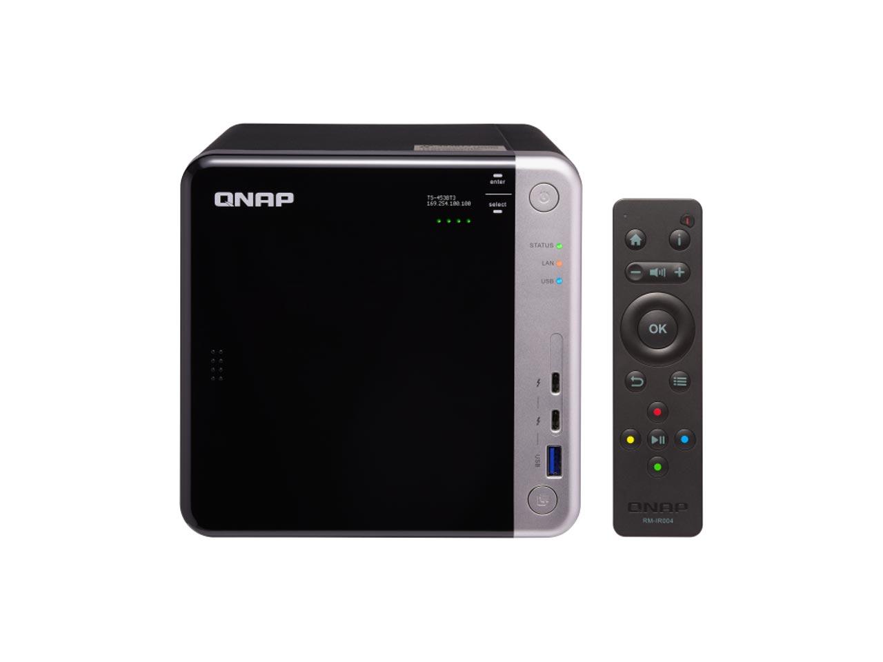 ذخیره ساز تحت شبکه کیونپ TS-453BT3-EU – 8GB |