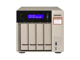 ذخیره ساز تحت شبکه کیونپ TVS-473e - 4GB
