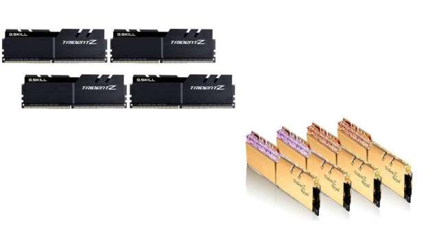 جیاسکیل حافظههای رم سری DDR4-4000 خود را در دو مدل جدید معرفی کرد