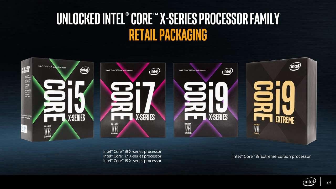 کاهش قیمت پردازندههای نسل هفتم و نهم سری Skylake-X