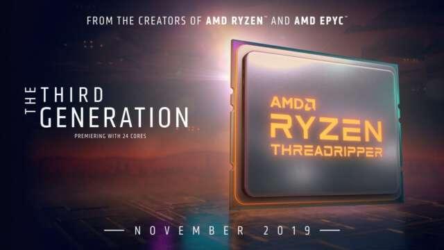 شروع پردازشگرهای Castle Peak با پردازنده Ryzen Threadripper 3960X