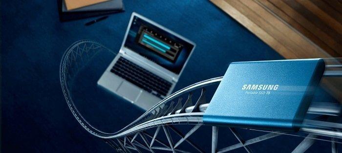 حافظه SSD اکسترنال سامسونگ T5 1TB MU-PA1T0B