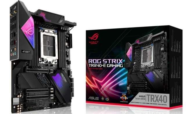 رونمایی ایسوس از مادربردهای TRX40 خود برای نسل سوم پردازندههای AMD Threadripper
