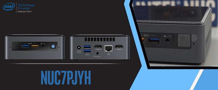کامپیوتر کوچک نیمه آماده اینتل NUC7PJYH