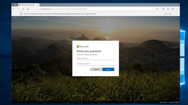 آموزش ریست کردن رمز عبور در ویندوز 10