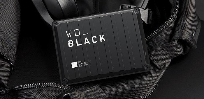 هارد دیسک اکسترنال وسترن دیجیتال WD_Black P10 Game Drive 5TB