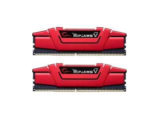 رم دسکتاپ DDR4 دو کاناله 3000 مگاهرتز CL16 جیاسکیل مدل Ripjaws V ظرفیت 32 گیگابایت