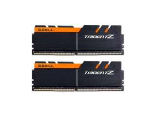 رم دسکتاپ DDR4 دو کاناله 3200 مگاهرتز CL15 جیاسکیل مدل TridentZ ظرفیت 32 گیگابایت