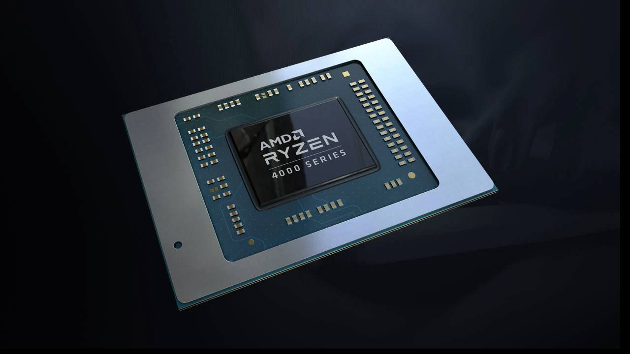 AMD از پردازندههای موبایل سری Ryzen 4000 رونمایی کرد