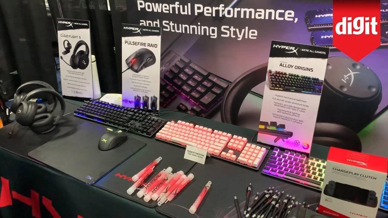 CES 2020: محصولات گیمینگ جدید HyperX رونمایی شدند
