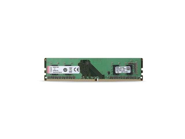 رم دسکتاپ DDR4 تک کاناله 2666 مگاهرتز CL19 کینگستون مدل KVR26N19S6 ظرفیت 4 گیگابایت