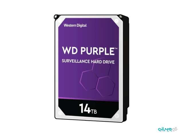 هارد دیسک اینترنال وسترن دیجیتال Purple Surveillance 14TB WD140PURZ