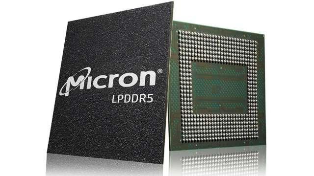 عرضه نخستین حافظه LPDDR5 عملکرد بالا برای گوشیهای هوشمند توسط میکرون