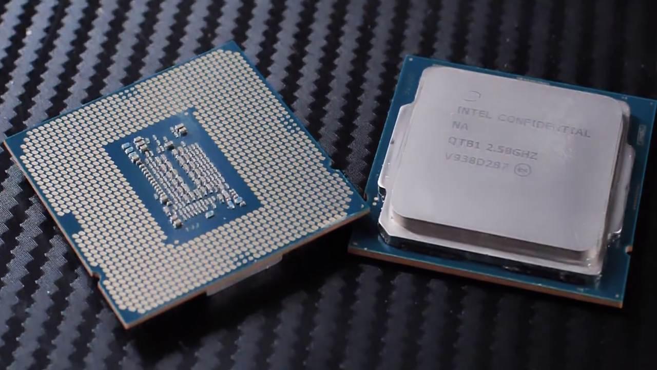 تصاویر جدید از دو پردازنده Core i9-10900K و i7-10700K اینتل رویت شد