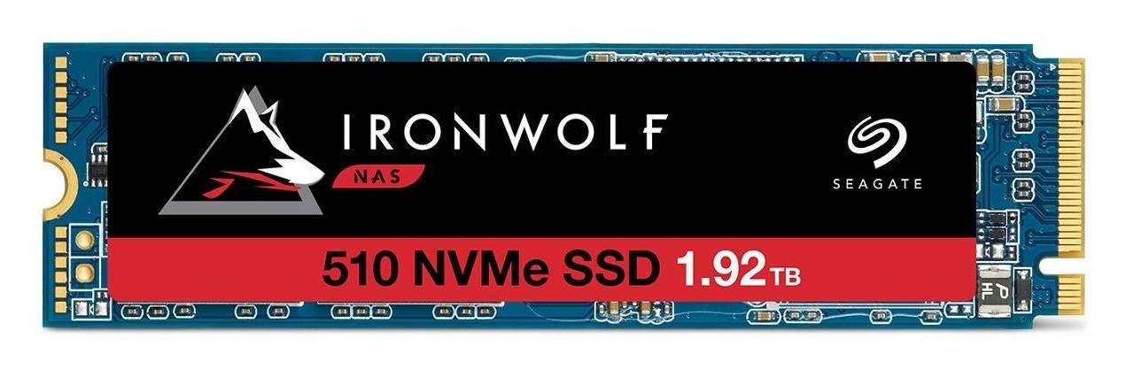 سیگیت از اساسدی IronWolf 510 M.2 NVMe رونمایی کرد