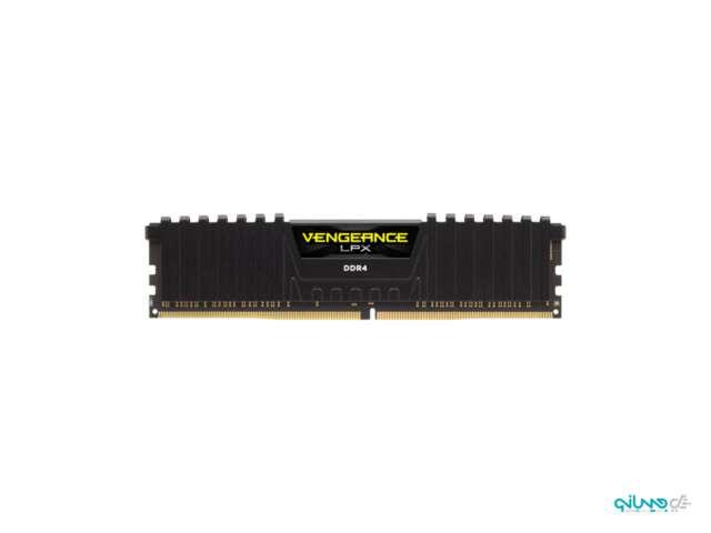 رم دسکتاپ DDR4 تک کاناله 3000 مگاهرتز CL16 کورسیر مدل Vengence LPX ظرفیت 8 گیگابایت