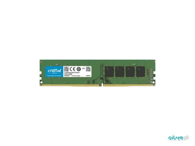 رم دسکتاپ DDR4 تک کاناله 2666 مگاهرتز CL19 کروشیال ظرفیت 8 گیگابایت