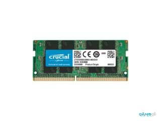 رم لپ تاپ DDR4 تک کاناله 2666 مگاهرتز CL19 کروشیال ظرفیت 4 گیگابایت
