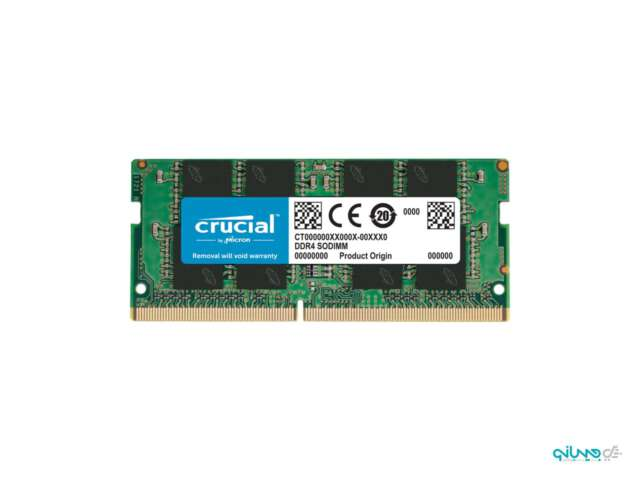 رم لپ تاپ DDR4 تک کاناله 2666 مگاهرتز CL19 کروشیال ظرفیت 8 گیگابایت