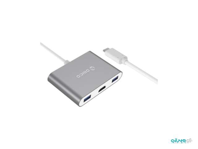 داک استیشن رومیزی USB Type-A + USB Type-C + HDMI اوریکو RCH3A