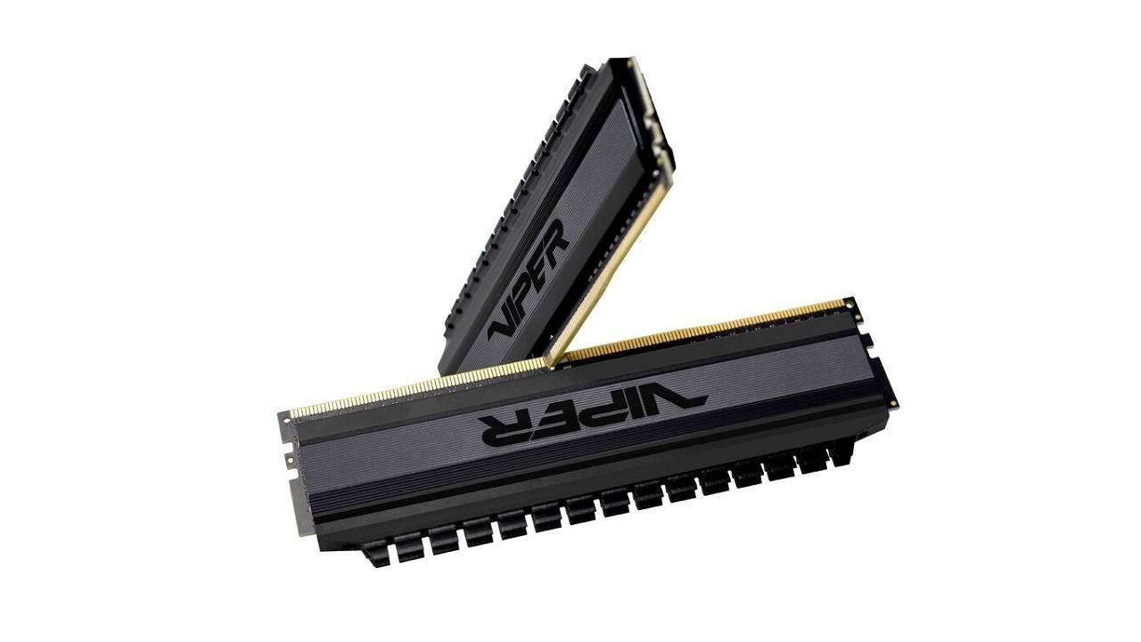 وایپر گیمینگ از کیت رم 64 گیگابایتی VIPER 4 BLACKOUT رونمایی کرد