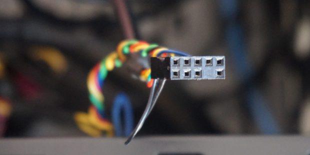 آموزش اتصال کابلهای پنل جلویی کیس به مادربرد