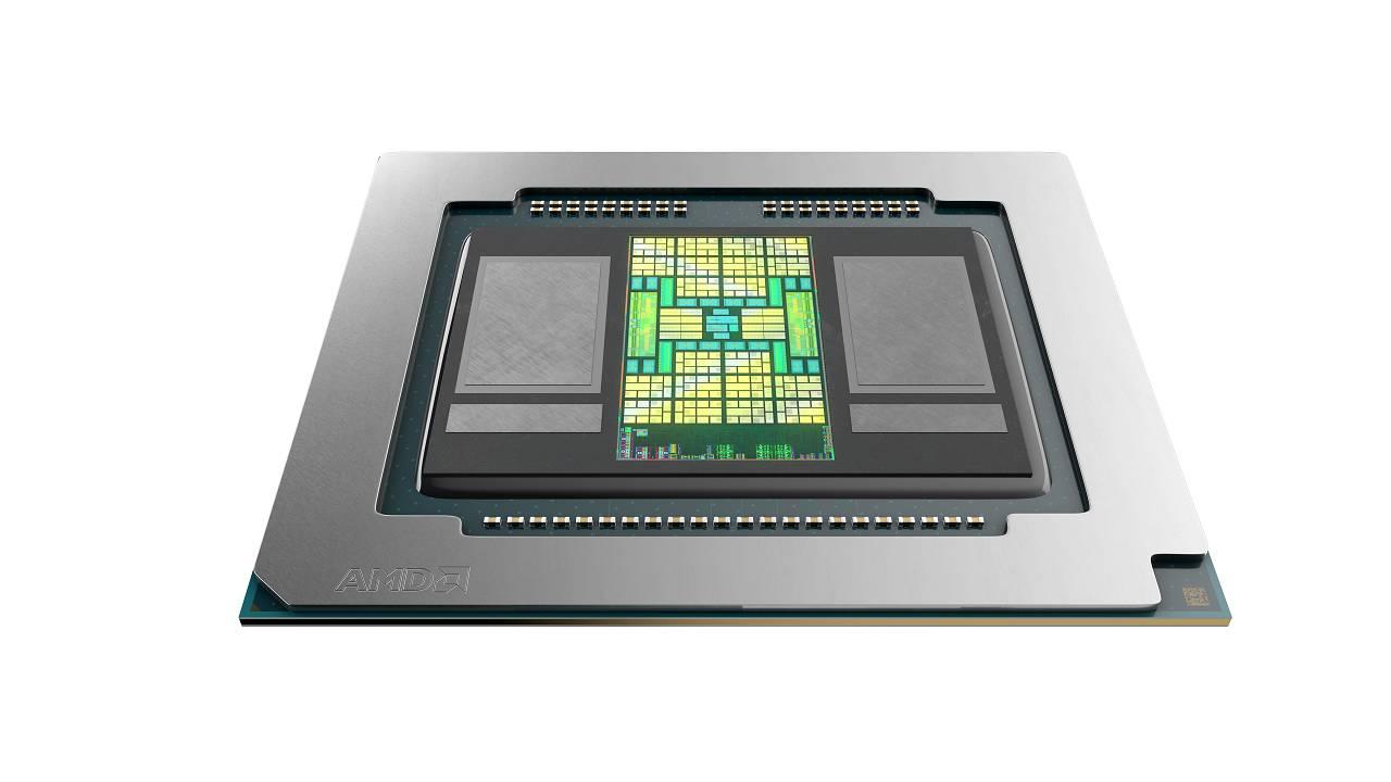 پردازشگر گرافیکی موبایل Radeon Pro 5600M در مکبوک پرو 16 اینچی بهکار میرود