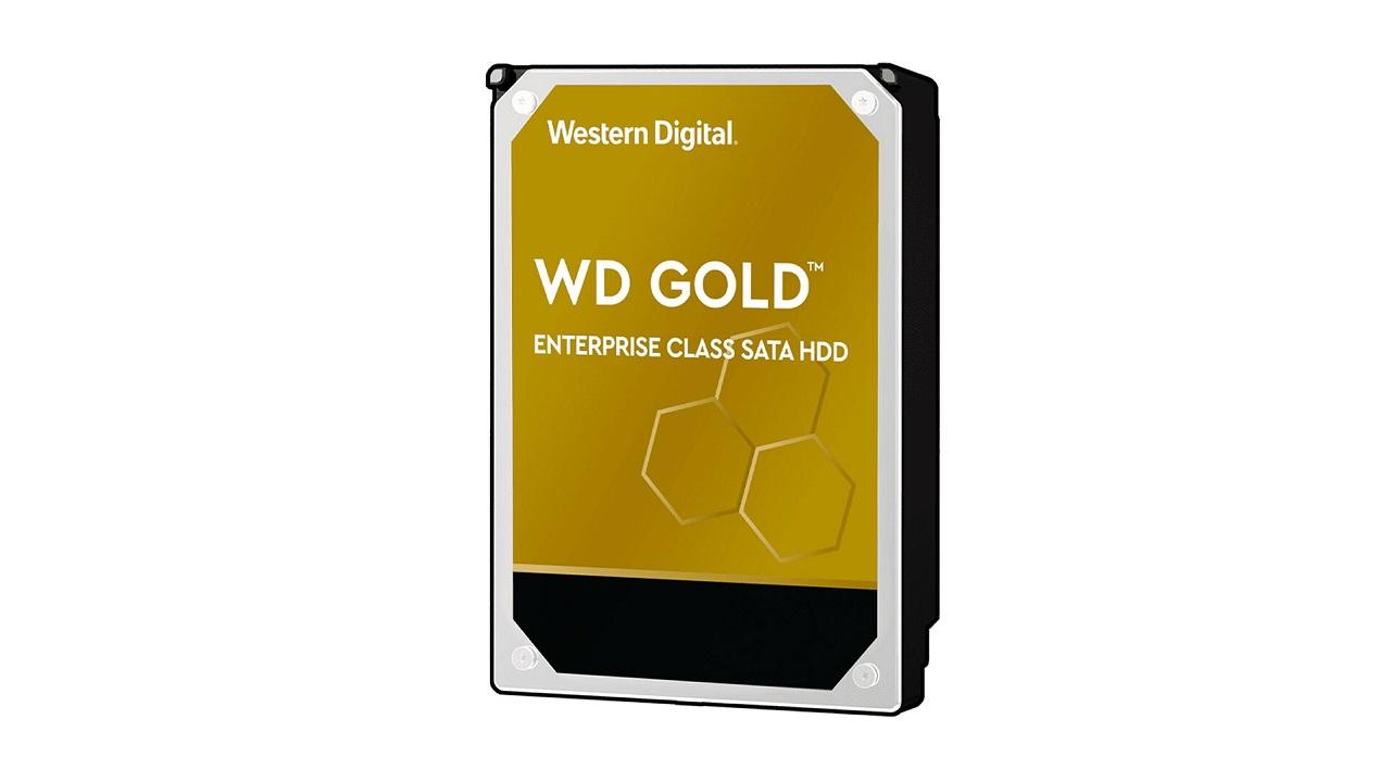 هارد دیسک 18 ترابایتی وسترن دیجیتال از سری Gold عرضه میشود