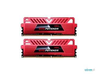 رم دسکتاپ DDR4 دو کاناله 3000 مگاهرتز CL16 گیل مدل EVO POTENZA ظرفیت 16 گیگابایت