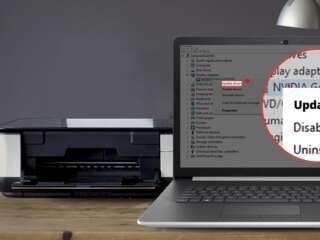 آموزش بهروزرسانی درایور قطعات سختافزاری در سیستمعامل ویندوز