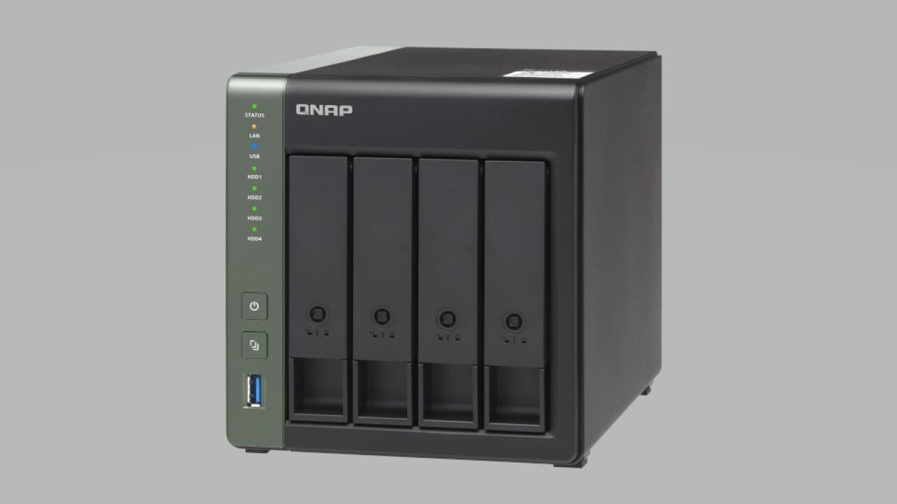 کیونپ از ذخیرهساز تحت شبکه TS-431X3 رونمایی کرد