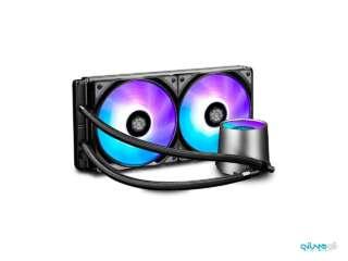 خنک کننده مایع پردازنده دیپ کول مدل CASTLE 280 RGB