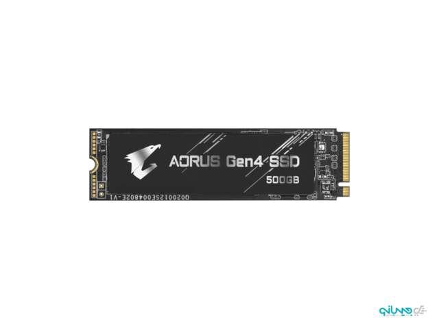 اساسدی گیگابایت AORUS Gen4 SSD 500GB NVMe M.2 GP-AG4500G