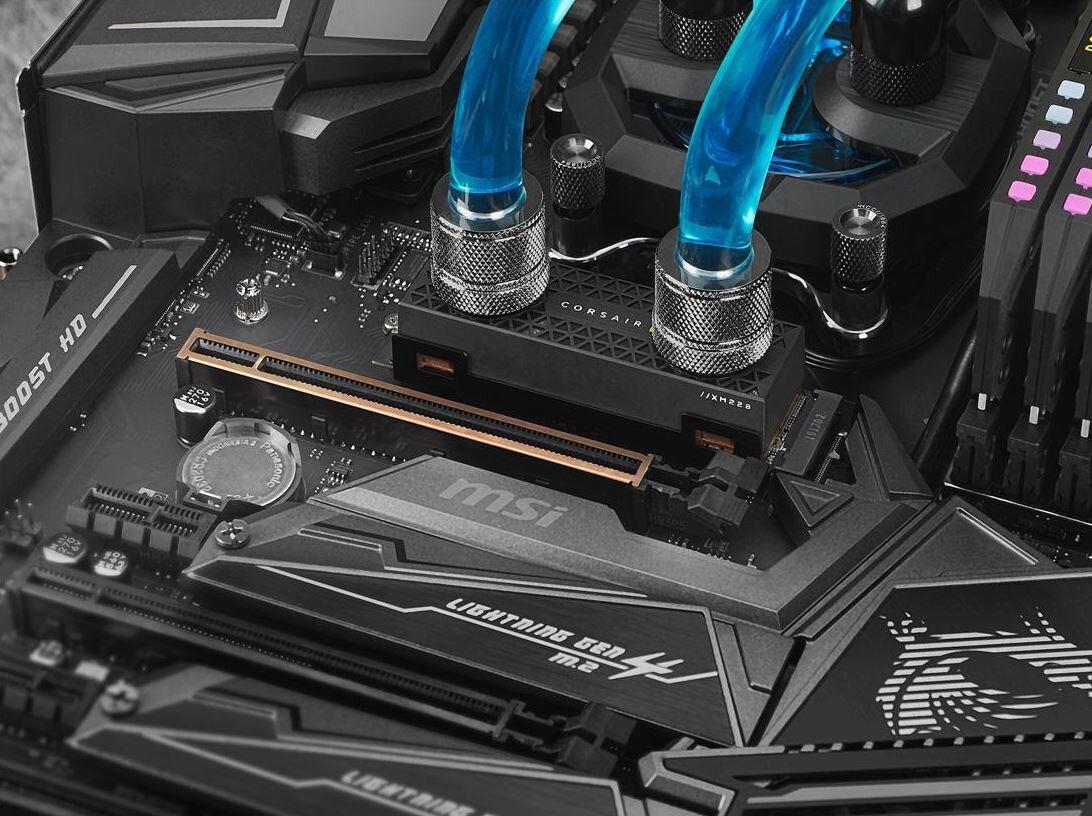 تصاویری از دو اساسدی MP600 Core و MP600 PRO HydroX شرکت کورسایر منتشر شد