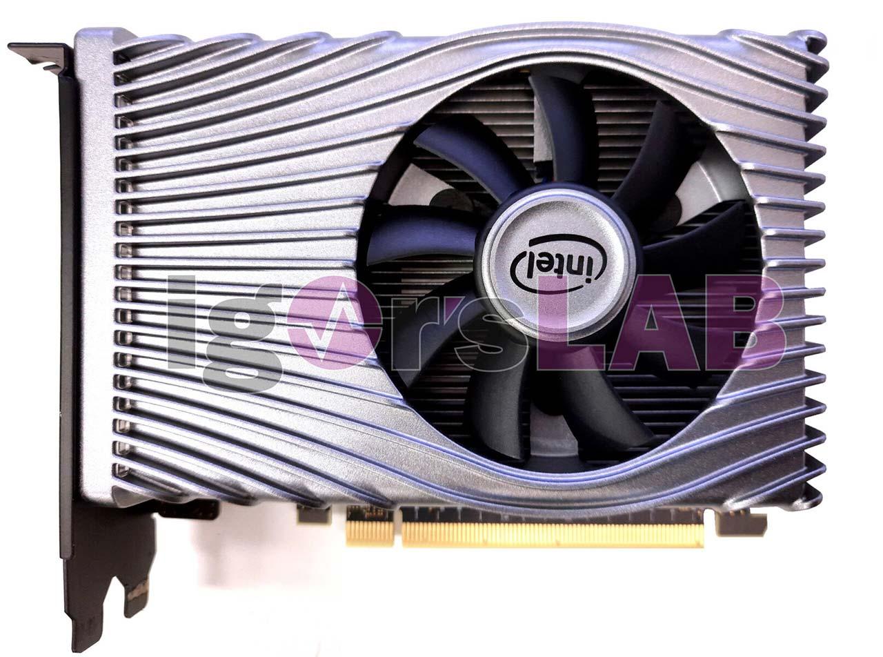 تصاویری از کارت گرافیک Intel Xe DG1 SDV منتشر شد